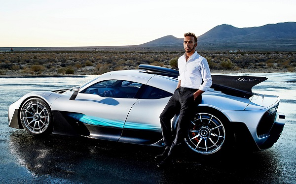 Mercedes-AMG Project One Lewis Hamilton