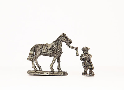 MAL22    Horse holder with horse (5 pairs)