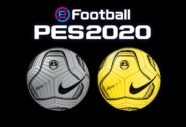 Aeroskulpt Balls For Ballserver PES 2020 by Vito