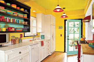 cocina amarilla