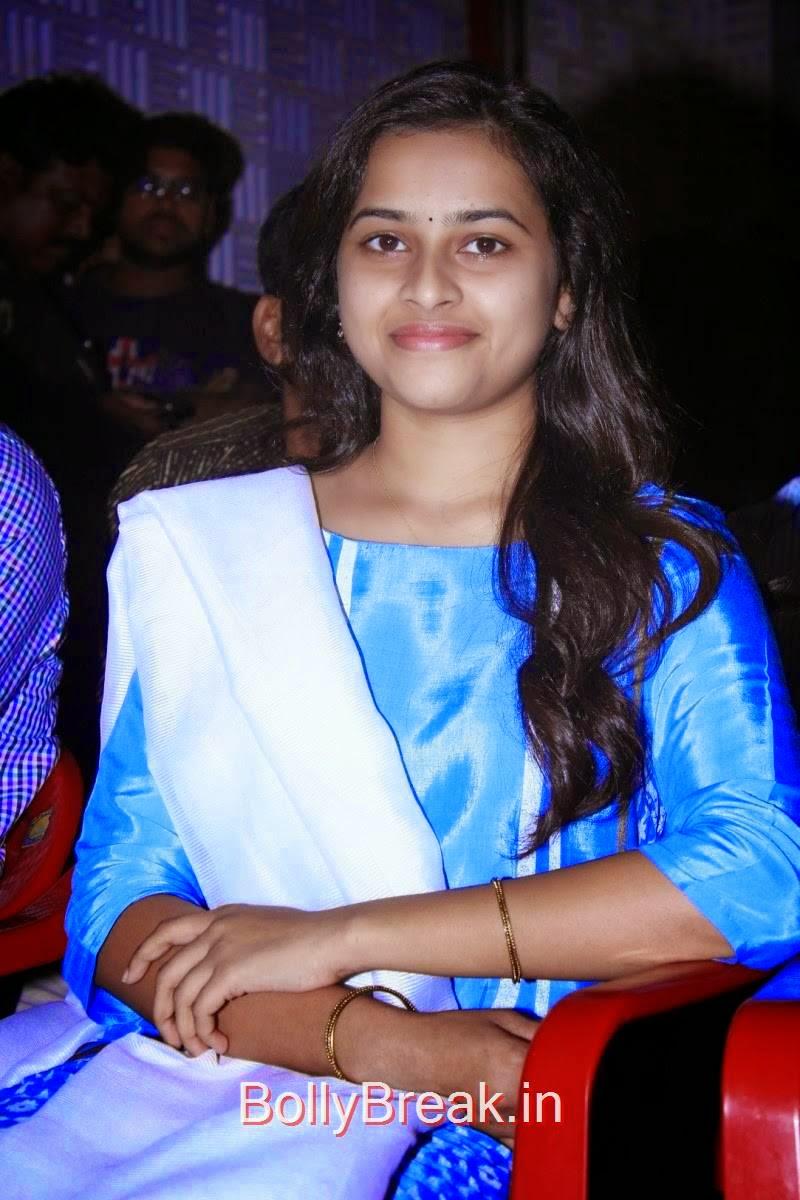 Sri Divya Hot Pics in Blue Suit from Vellaikara Durai Tamil Movie