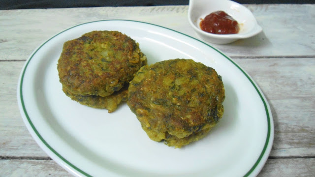 spinach pattices
