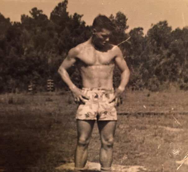 25 Fascinating Pictures Show How Cool Our Grandparents Used To Be - Grandma Sent Me A Picture Of My Grandpa At My Age To Make Me Feel Like Shit