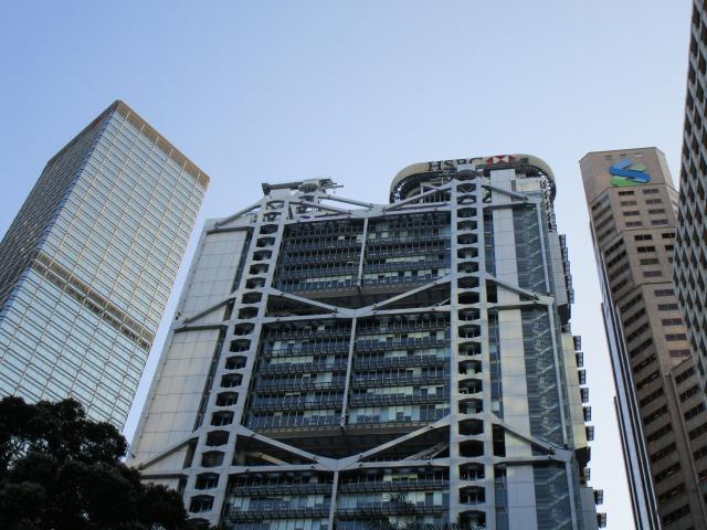 HSBC銀行(香港上海銀行)香港本店ビル