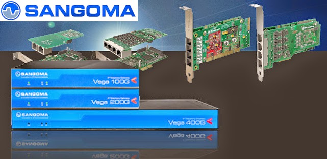 Sangoma PRI E1 T1 J1 Digital Voice Interface card for Open Source IP