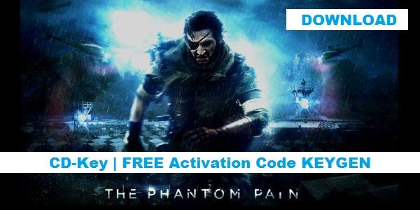 The Phantom Pain free steam key