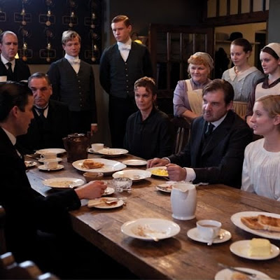 Downton Abbey Below Stairs Kitchen Staff on 2014 Calendar