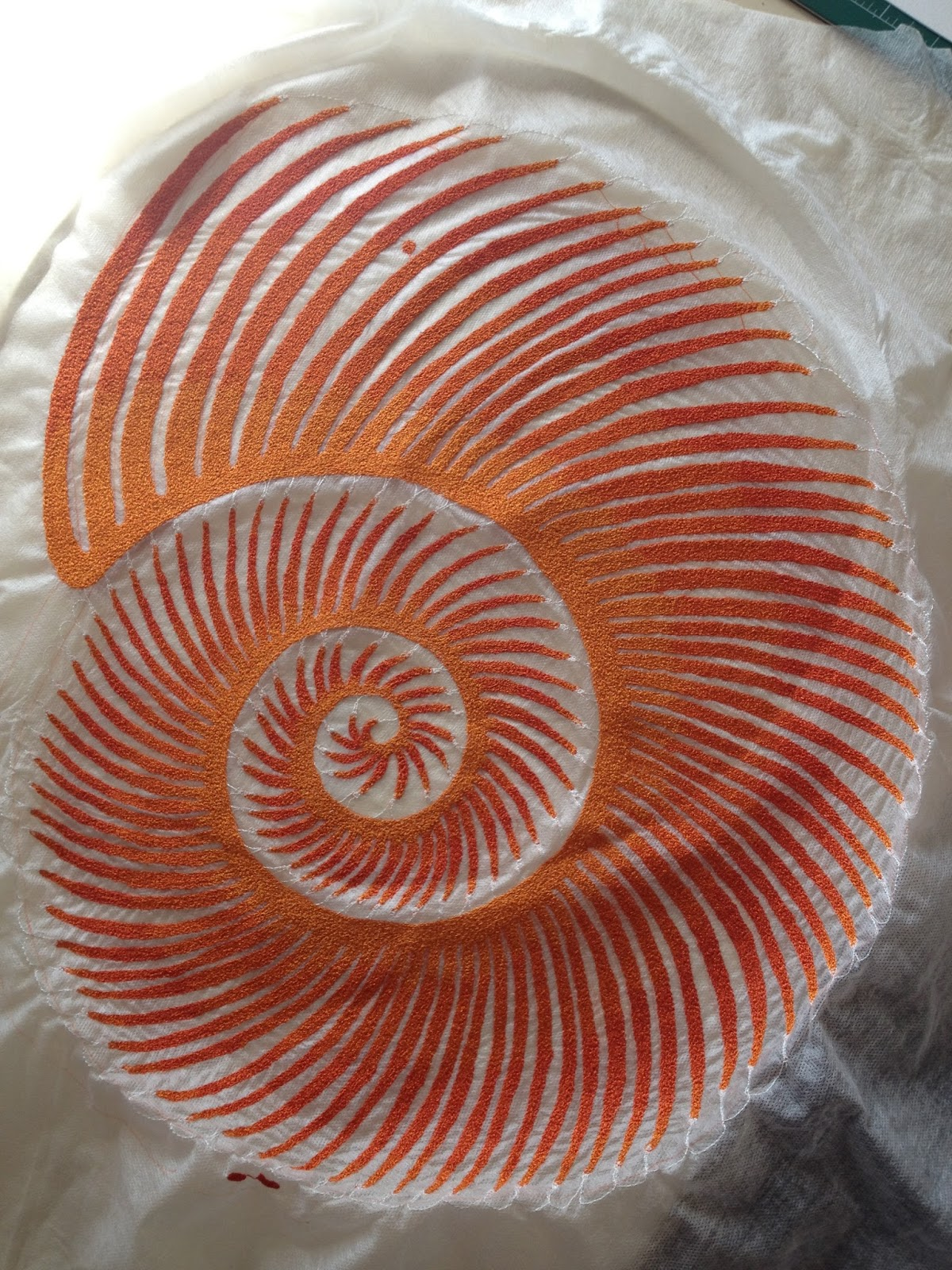 The Spiral Step Using A New Tarot Deck: The Artwork Of Meredith Woolnough: Sea Spiral