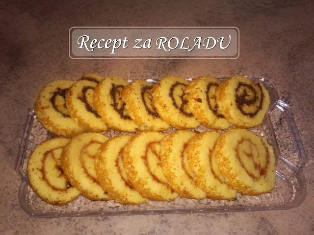 swiss roll, cake, rolada, easy, recipe, recept, ukusno, yummy, jednostavno, quich, easy, simple, tasty