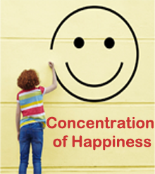 Concentration of Happiness