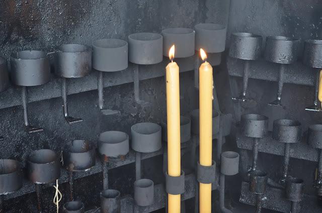 Vela no Santuário de Fátima