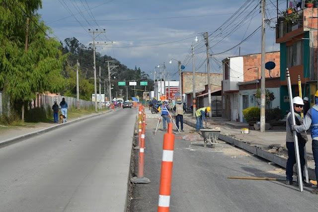 Por la Alcaldía se generó incumplimiento y prórroga en obra de la vía Facatativá - El Rosal