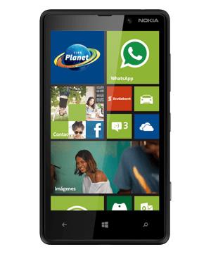Nokia Lumia 820 Negro