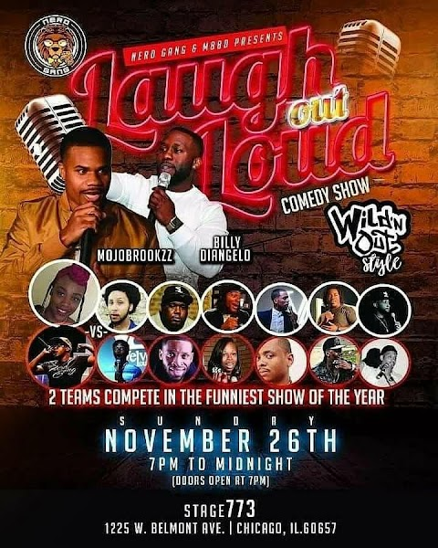 TICKET GIVEAWAY>> Win 2 tix to the Wild n' Out Edition of LAUGH OUT LOUD COMEDY SHOW