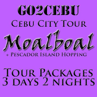 Cebu City + Moalboal Beach Adventure + Pescador Island Hopping in Cebu Tour Itinerary 3 Days 2 Nights Package