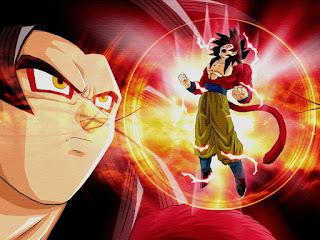 el poder de la transformación de goku
