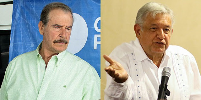 Vicente Fox volvió a criticar a Andrés Manuel López Obrador, indica que no trabaja
