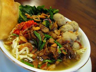 Resep Mie Ayam Kuah Kental Bakso Spesial