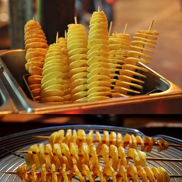 Nơi bán bếp chiên khoai tây lốc xoáy ở Hà Nội