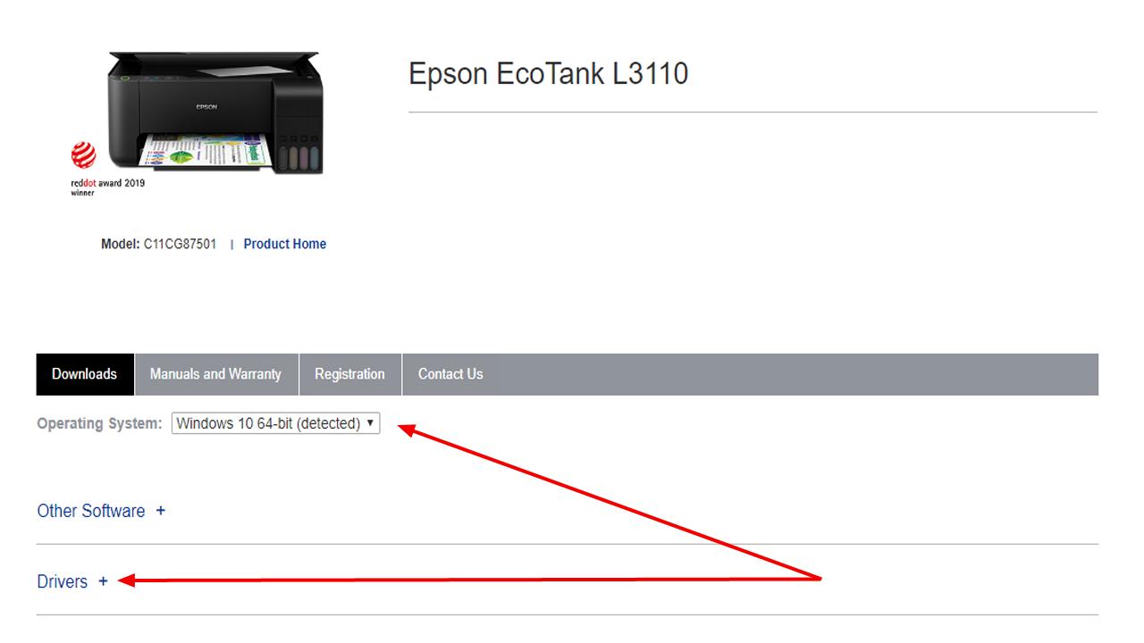 Panduan Donwload dan Instal Driver Epson L3110 Tanpa CD/DVD