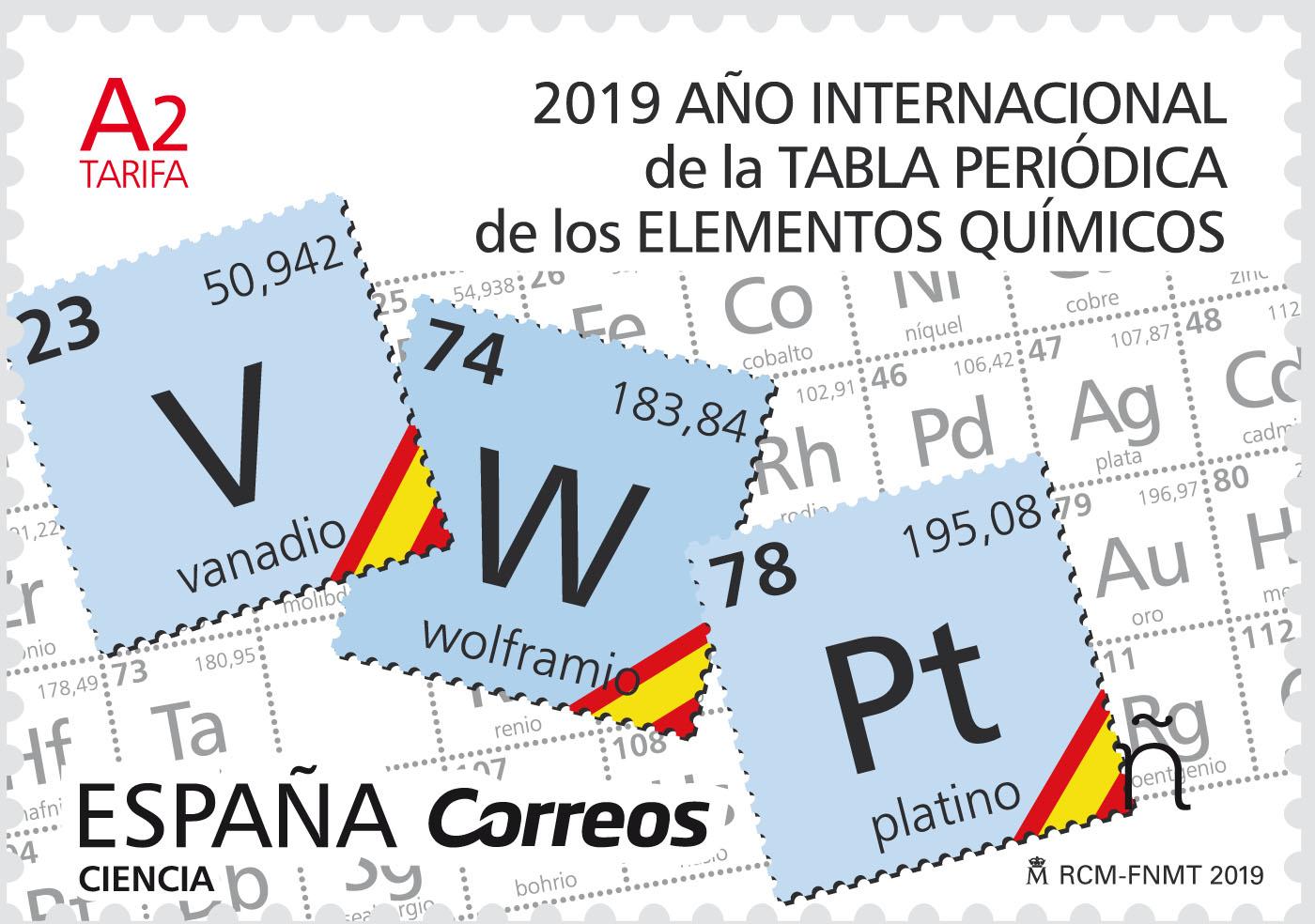 Año Internacional de la Tabla Periódica de los Elementos Químicos (Ciencia)