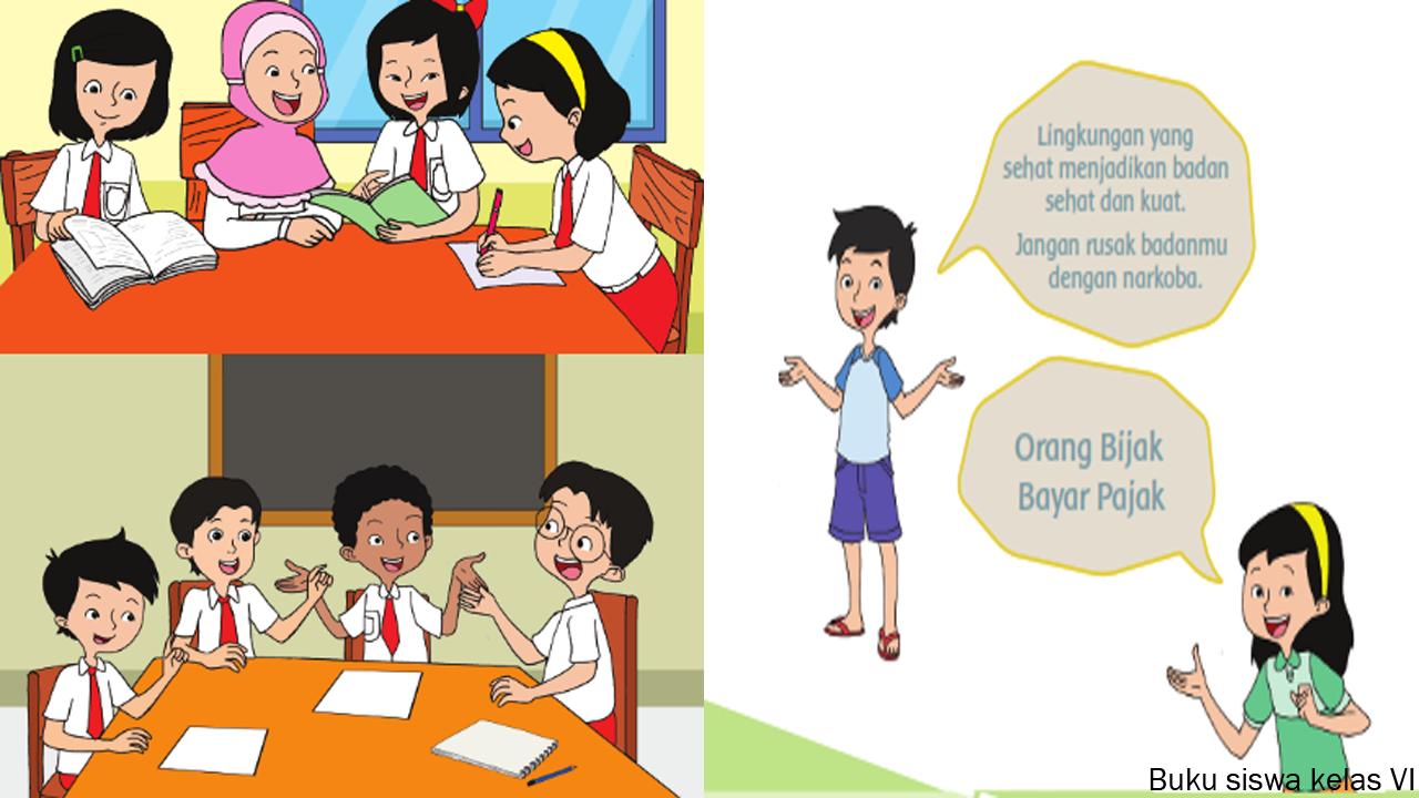 RPP Kelas 6 Tema 6 Subtema 4 Kurikulum 2013 Revisi 2018