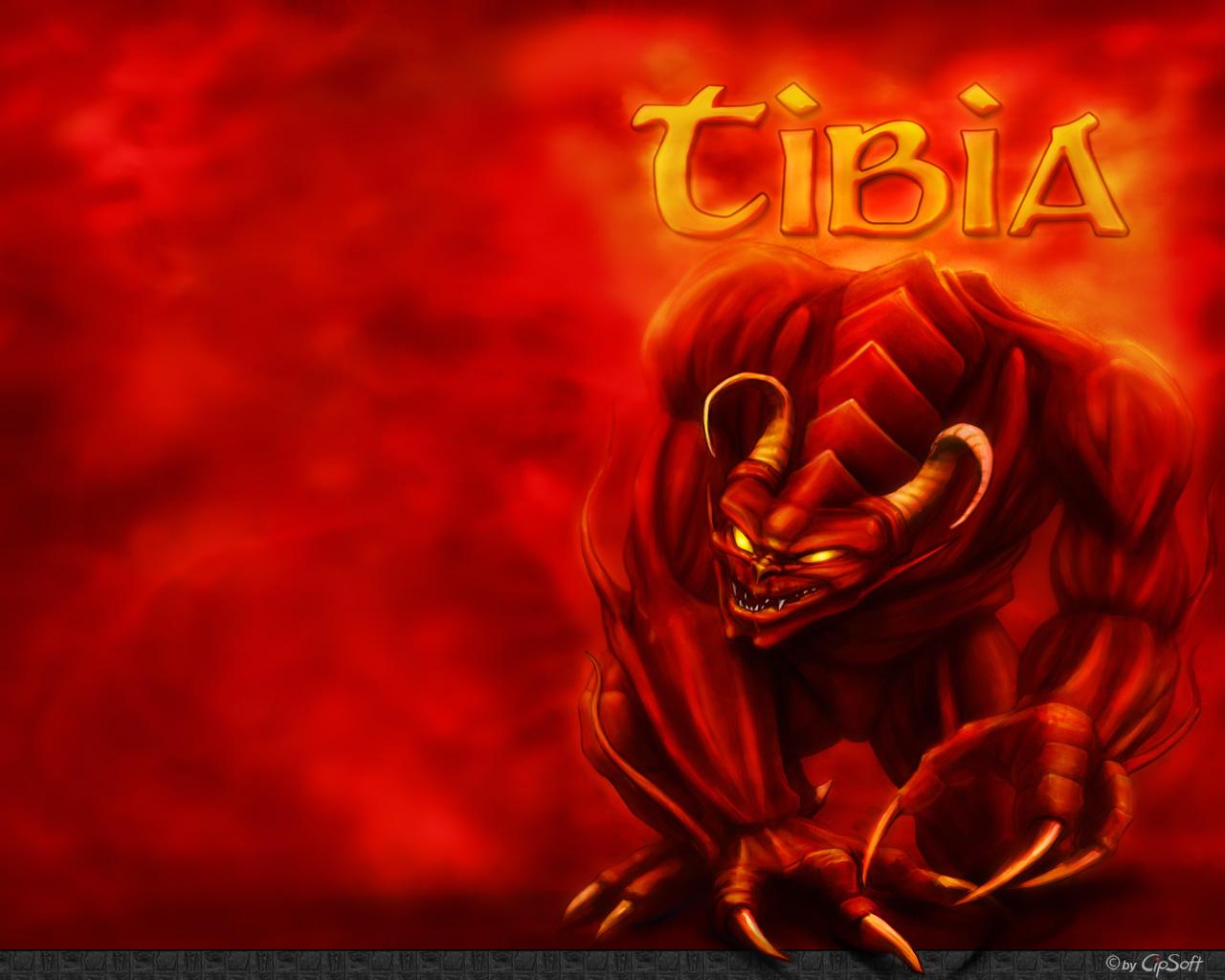 Wallpaper Tibia Demon