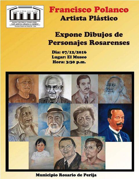 Francisco-Polanco-expone-dbujos-de-Personajes-rosarenses