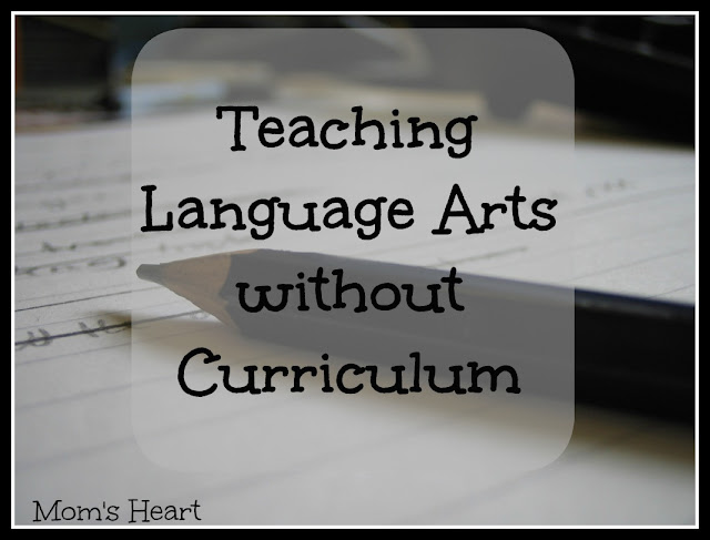 Teaching Language Arts without Curriculum