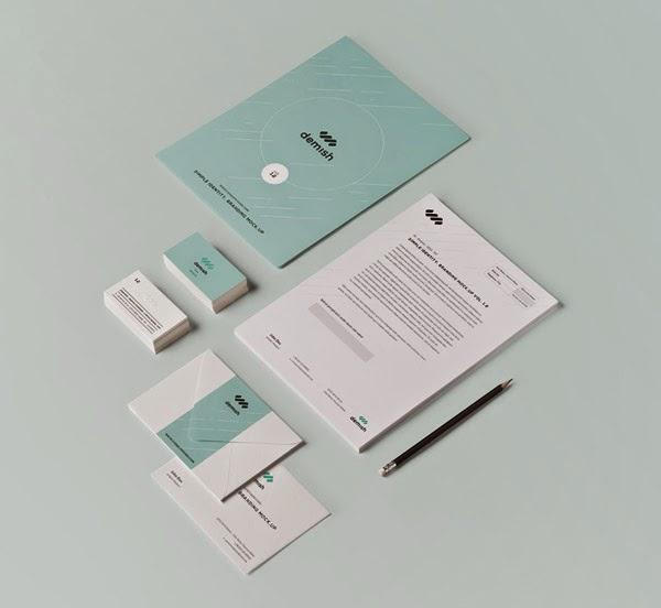 Download Branding Stationery Mockup Gratis - STATIONERY BRANDING MOCKUP VOL 1-2