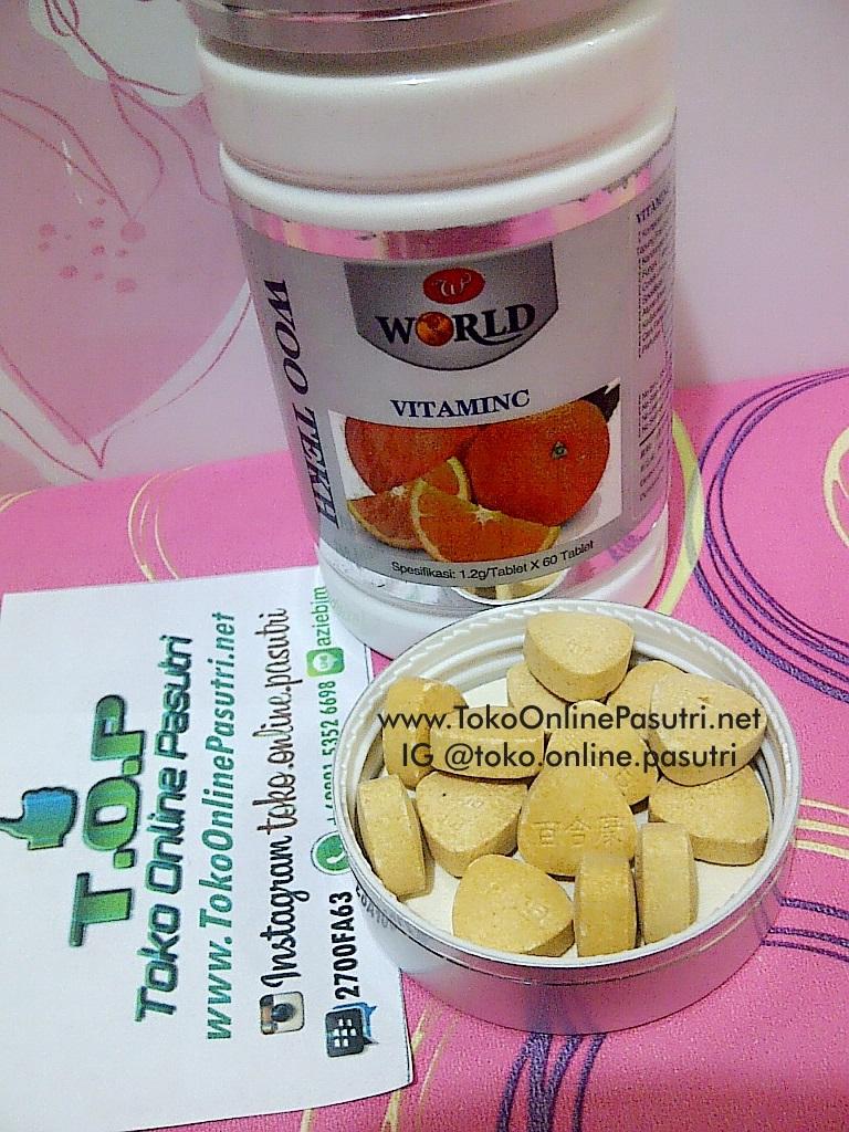 VITAMIN C, Clear Lung Tea, Teh kesehatan, Biolo WSC Pelangsing herbal Original berBPOM Ampuh member resmi Wootekh Banjarmasin