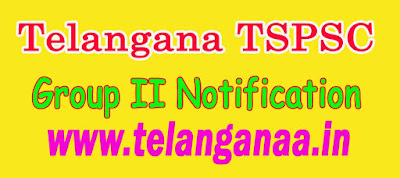 Telangana TSPSC Group II Notification