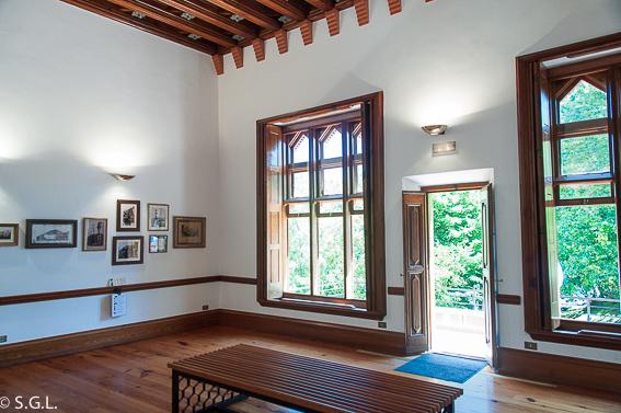Dormitorio principal Capricho de Gaudi. Comillas