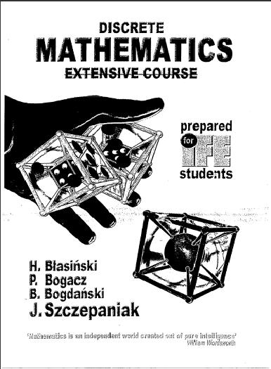 Engineering Books: Discrete Mathematics by Blasinski