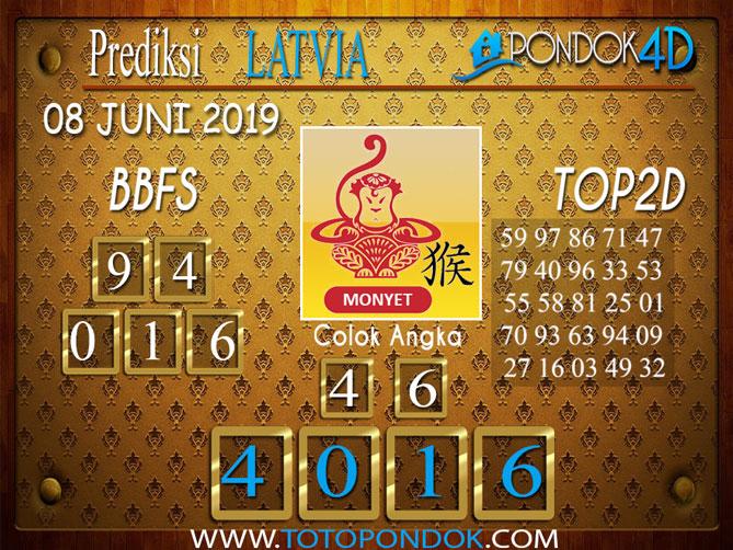 Prediksi Togel LATVIA PONDOK4D 08 JUNI 2019