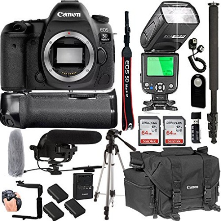 7. Canon EOS Rebel T6i 24.2MP DSLR Camera With Canon 18-55mm STM Lens