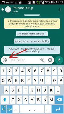 cara menggunakan stiker whatsapp sendiri