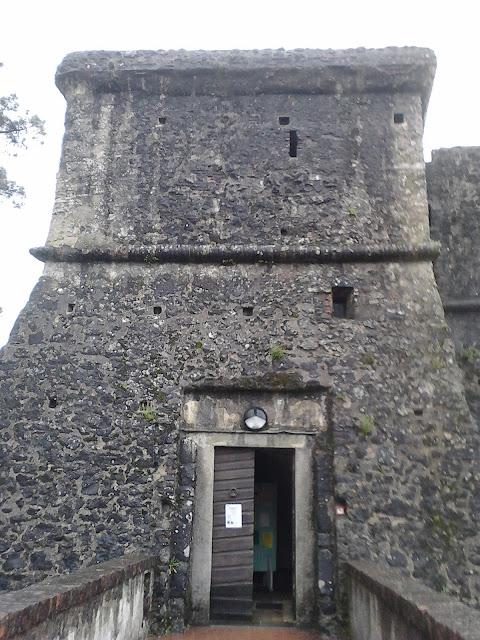 accesso alla Fortezza della Brunella