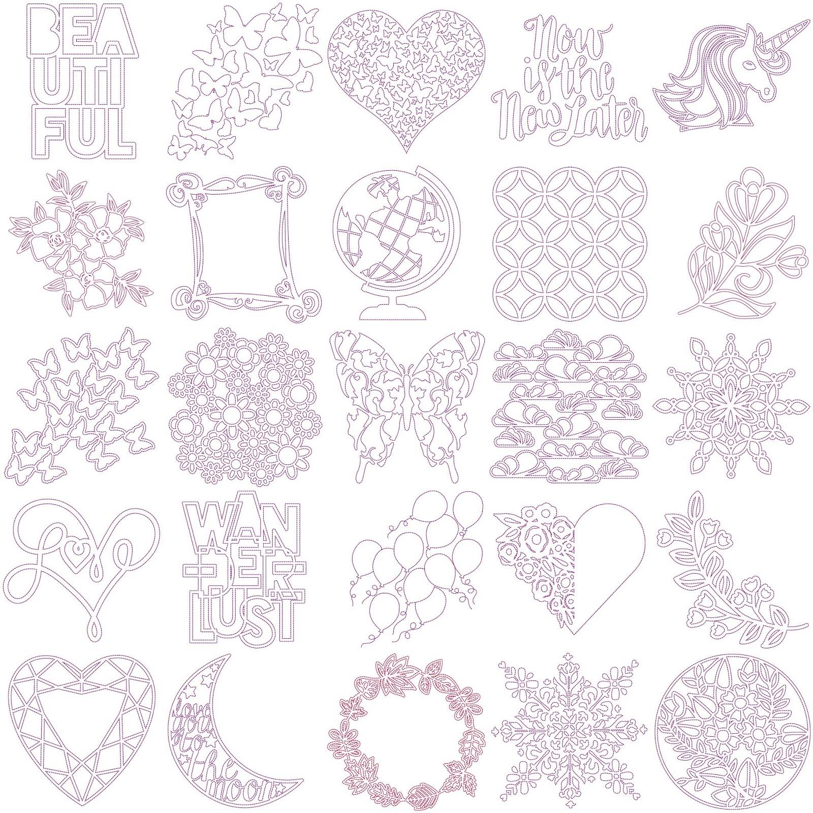 Sketch & Stitch® Cut Files and Sale!   Paige Taylor Evans