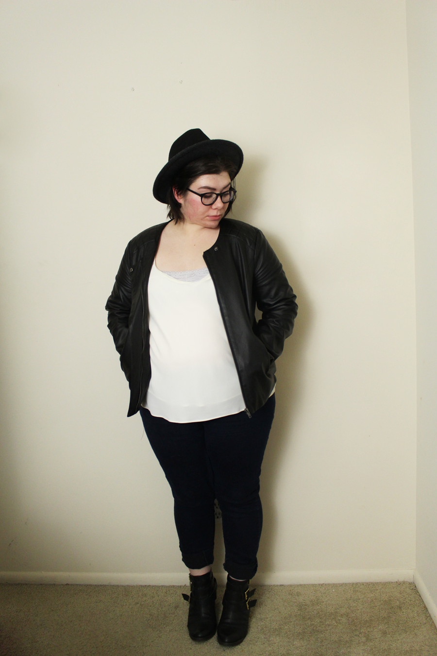 5 Ways to Style a Leather Jacket, katielikeme.com fashion, style, outfit, leather jacket