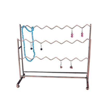 Shop for Metal ZigZag Wire Earring Display