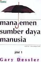 MANAJEMEN SUMBER DAYA  MANUSIA edisi kesepuluh Jilid 1