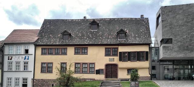 Bachhaus en Eisenach