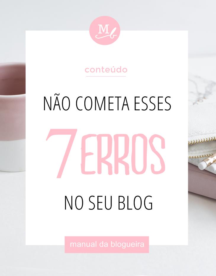 erros no seu blog