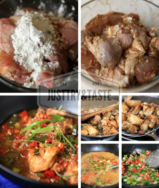 Resep Tumis Ayam 'Nyemek' Pedas
