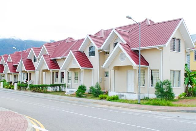 Sozialer Wohnungsbau auf den Seychellen