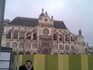 Saint- Eustache  Paris les Halles