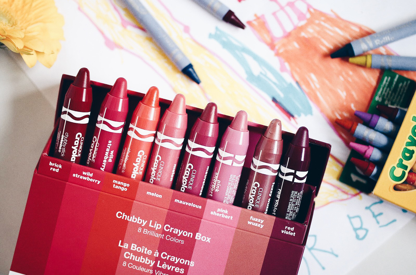 clinique crayola chubby stick avis test swatches