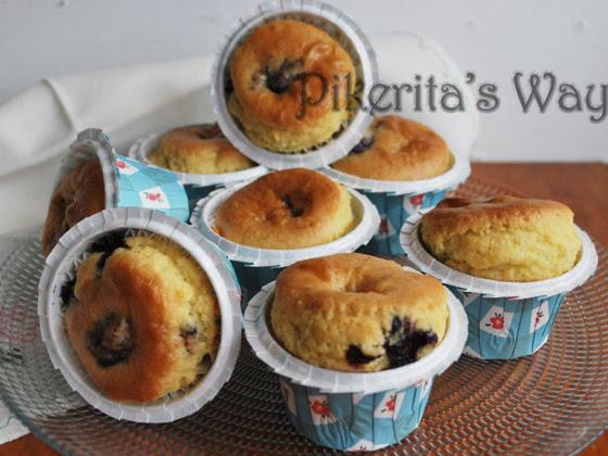 Muffins de arándanos by NuriaChef