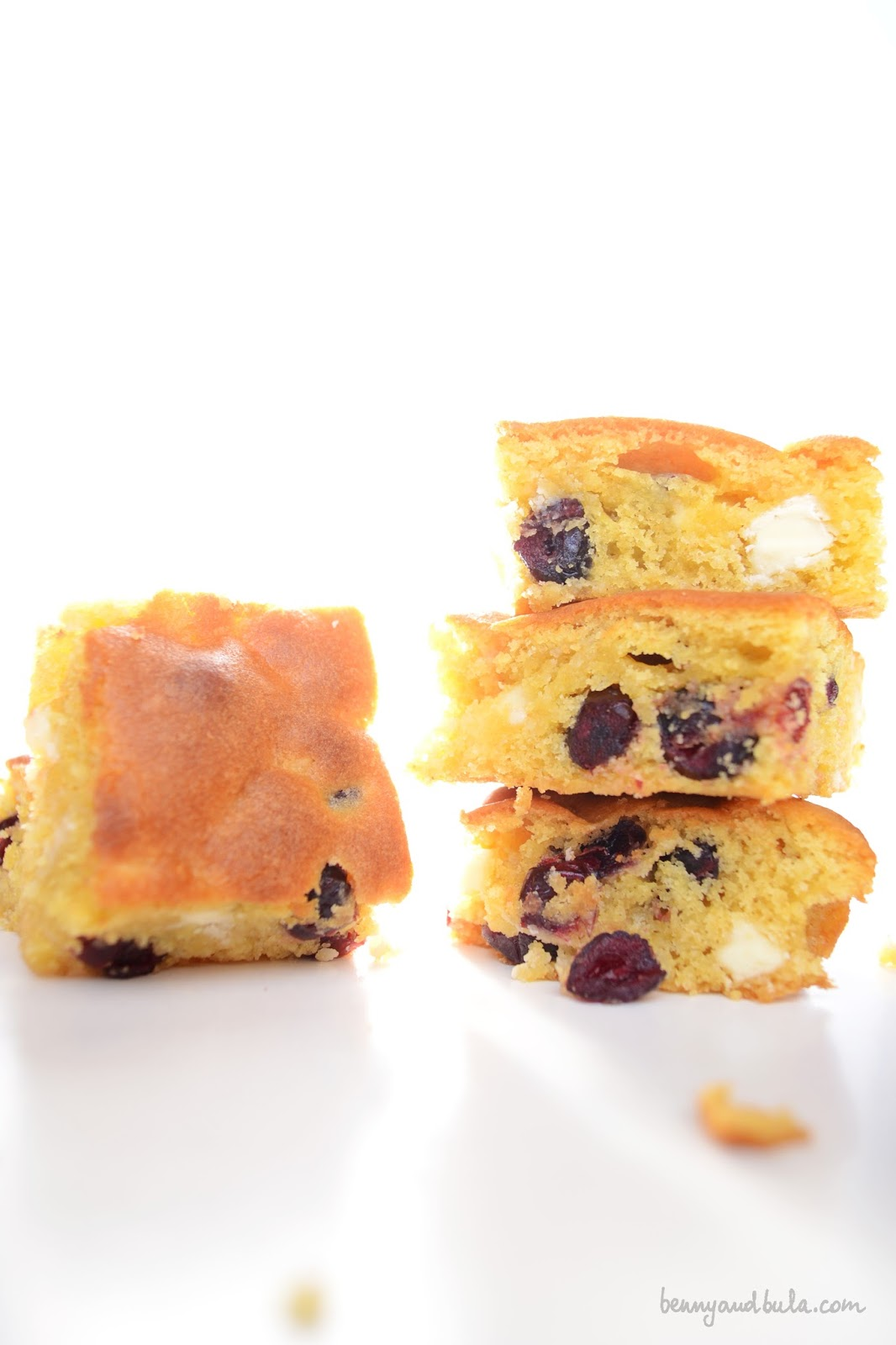 fudgy blondies recipe ricetta